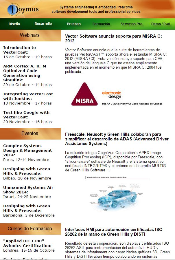 Newsletter Octubre 2014